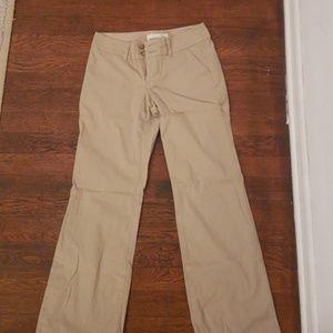 Old Navy Bootcut Khaki Trousers